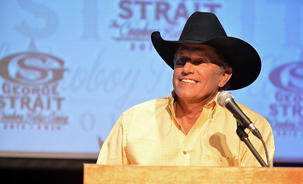 George Strait Press Conference And Reception