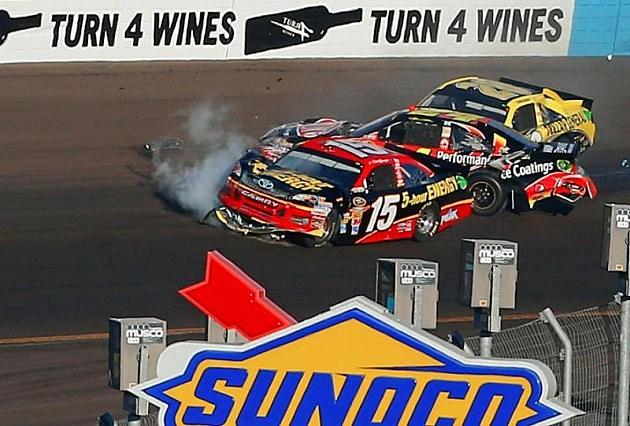 Bowyer, Gordon wreck in Phoenix