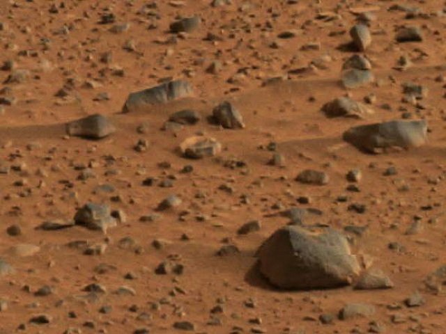 First Color Pictures Of Mars
