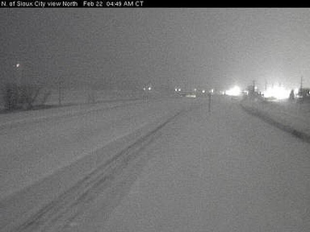 DOT North Sioux City along I-29