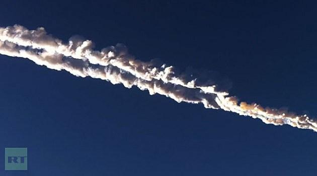Meteorite / Russia/ Feb 15, 2013
