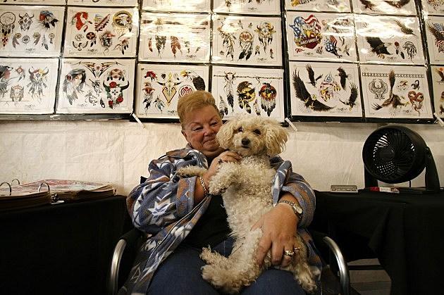 Tattoo and dog