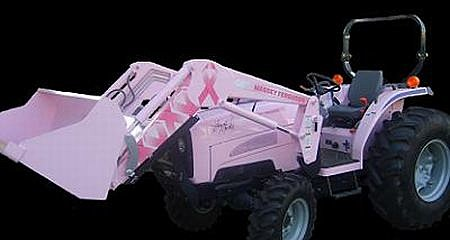 Pink Tractor for breast cancer screening