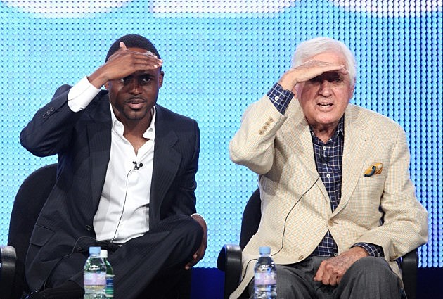 Wayne Brady and Monty Hall