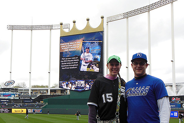Kauffmann Stadium, Kansas City Royals