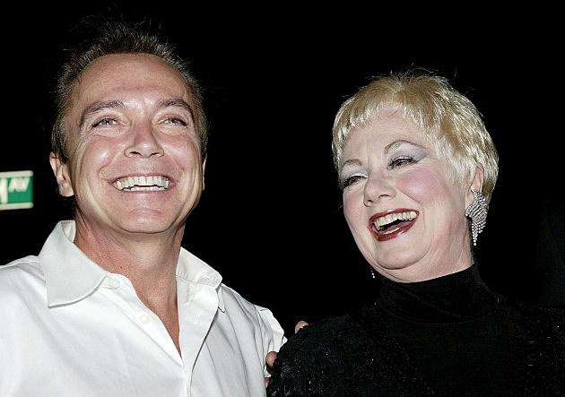 David Cassidy and Shirley Jones