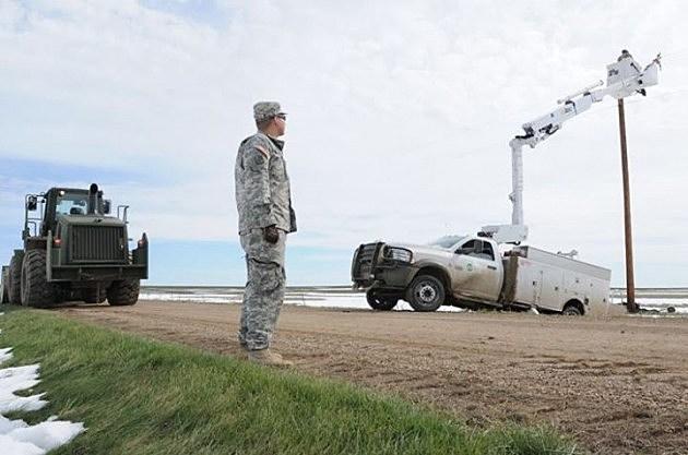 South Dakota National Guard Assists after mega-blizzard in Black Hills
