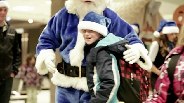 WestJet Santa