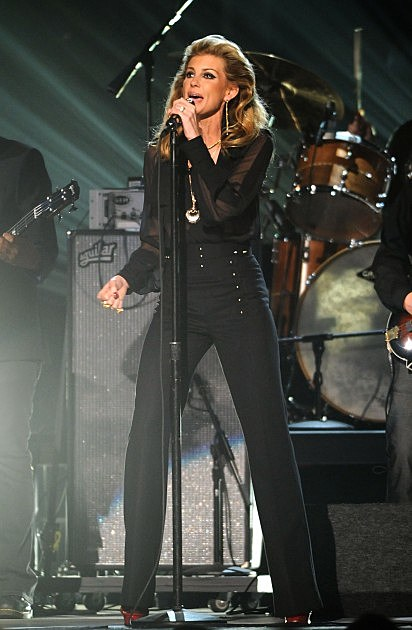 Faith Hill performs at the 45th annual CMA Awards at the Bridgestone Arena on November 9, 2011 in Nashville, Tennessee.
