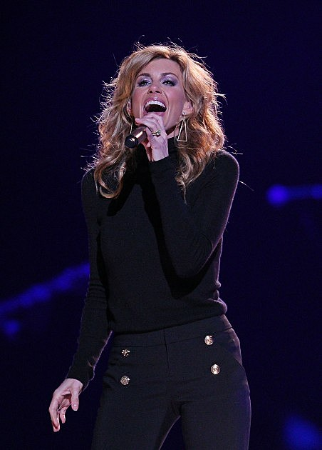 Faith Hill performs live on stage at Rod Laver Arena on March 20, 2012 in Melbourne, Australia.