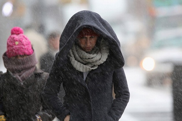Strong Winter Storm Bears Down On  US