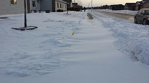 FILE: Snowy Sidewalk
