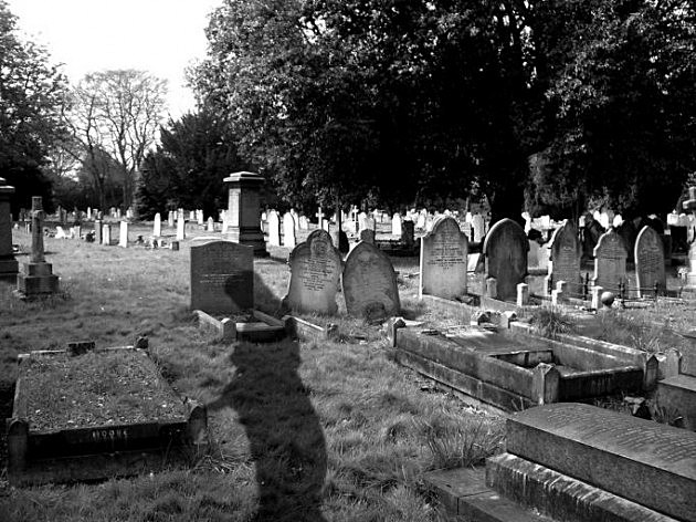 Ghost In Cemetery