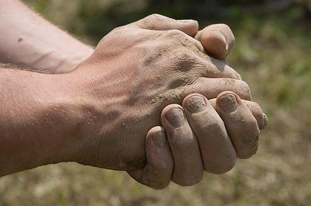 Hands Coming Apart