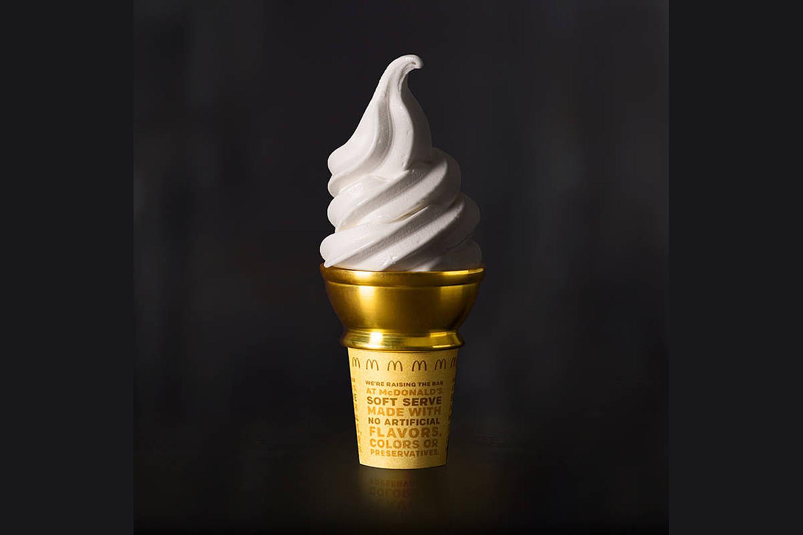 McDonald's Golden Cone